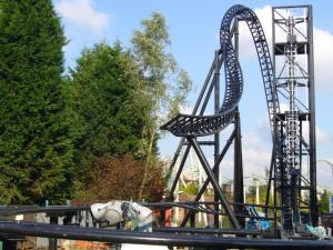 Thorpe Park - Saw The Ride